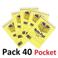 NoteBook Pocket size 96 page Top Open Spirax 560 - pack 40