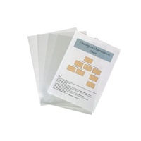 Letter File A4 Marbig Glass Clear 2004912 Pack 10