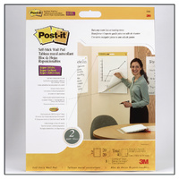 Flipchart 3M 566 Post -it® Self-Stick Wall Pad 566 50.8 cm x 58.4 cm - pack 2 no lines (not ruled)