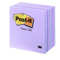Stick on notes 75x75 cubes Purple 490 sheet - each