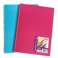 Derwent Visual Art Diary A4 Coloured R3107599 - each
