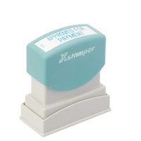 Stamp Pre-inked APPROVED FOR PAYMENT 1025 Blue 5010250 Xstamper - each
