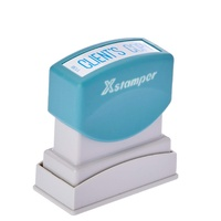Stamp Pre-inked Clients Copy Blue 5011380 Xstamper - each