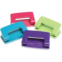 Punch 2 Hole -> 6 sheet Marbig Hole Punch Marbig Summer Colours 975707 - each