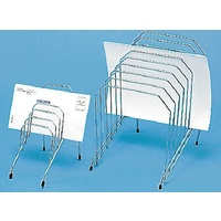 Step File organisers Small - 6 graduated slots chrome Marbig 87300 - each