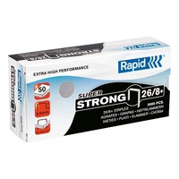 Staples 26/8 5000 Rapid - box of 5000