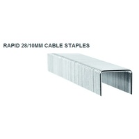 Staples Rapid 28/10 Cable Staples Box 5000 -