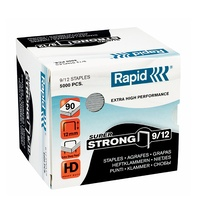 Staples 9/12 12mm Rapid - box of 5000