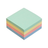 Notes Marbig Pastel Cube 75mm x 75mm Assorted 1810899 400 Sheets