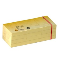 Stick on Notes 38x50mm Yellow Marbig 1810205 - pack 12 Like small post it notes 40x 50