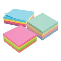 Notes Marbig Rainbow Cube 75mm x 75mm 1811099 320 Sheets
