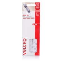 Velcro Strip Hook + Loop 20mm x 150mm Hangsell so a strip adhesive backed Sticky Back V24316
