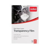 OHP Film (20) Nobo Plain Paper Copier PP100C Pack of 20 for your photocopier