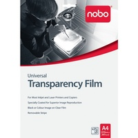 OHP Transparency Film InkJet or Laser NOT HP Universal A4 nobo - box 25 UF0025