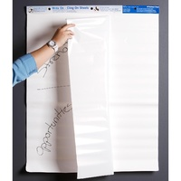 Whiteboard type Cling on Sheets 685x864 Write On Cling Sheets type Avery 930101 - pack 35