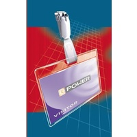 Small Laminating Pouch Rexel Badge card (67x98mm) 2 x 180 micron 41611 - box 50