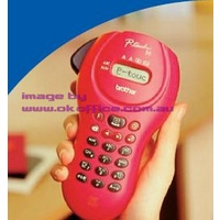 Label Maker Machine Brother P-Touch PT55 Fuchsia takes M-K Tapes