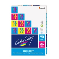 Copypaper A4 Matt White 90gsm - pack 500 Color Copy colour