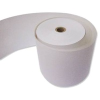 Adding Machine Rolls 57x57x11.5 2 ply - roll - this is 1 roll but it is 2 ply meaning there is a copy ** not thermal but impact carbon