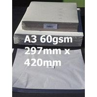 Bulky News Paper A3 60gsm 297mm x 420mm Ream 500 10452274  BN60A3
