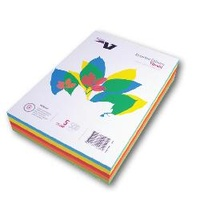 Paper Copy Paper Rainbow pack A4 10 colours Vibra - pack 200