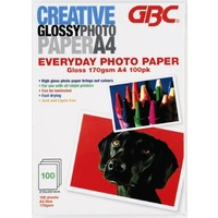 Inkjet Paper 170gsm A4 Photo Gloss finish Creative - box 100