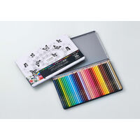 Coloured Pencils 36 colours UNI 888 - tin 36