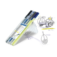 Pen Staedtler Triplus Multi Set 34SB4 - wallet 4