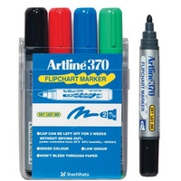 Flipchart markers Artline 370 assorted bullet point - pack 4