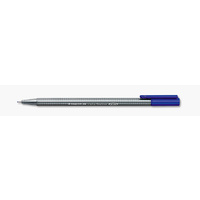 Pen Staedtler Triplus 334 Fineliner 0.3mm Blue 3343 - box 10