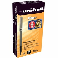 Pens Uniball UB155 Micro Deluxe 0.2mm BLACK UB155BK - box 12