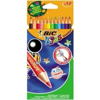 Pencil Colour Bic Kids - pack 12