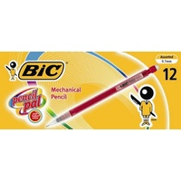 Pencil Mechanical Bic Disposable 0.7mm HB 4655 4665 - box 12