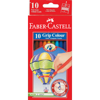 Coloured Pencils Triangular Faber 1165 - pack 10
