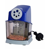 Pencil Sharpener Electric 6 Hole School Pro 0308550 - each