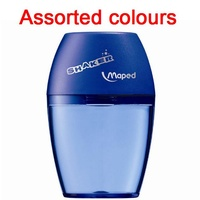 Pencil Sharpener Maped Shaker 1 Hole Blister Card assorted colours - each
