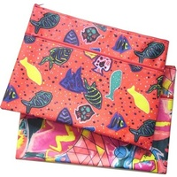 Pencil Case Printed Design Bright 974202K - each
