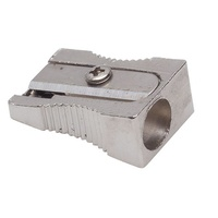 Pencil Sharpener Metal Single Hole Box 24 Bud Beilei 1002