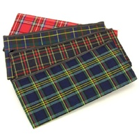 Pencil Case Tartan 320x150mm Dats 454 - each