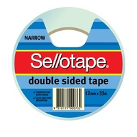 Double Sided Tape 12x33m SelloTape 404 960602 - roll