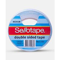 Double Sided Tape 18x33m SelloTape 404 960604 - each