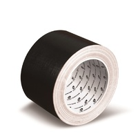 Cloth Tape Wotan 75x25m Black 42791 - roll