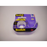 Tape Scotch Gift Wrap 11S Dispenser 19mm x 5M Card 1