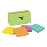 Post It Note 3M 654 14AU 76 x 76mm Jaipur Pack 14