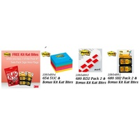 Post It Flags 3M 680 RD2 Red 2 Packs With Bonus Maltesers ** Limited stock, none qld