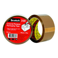 Packaging tape 3m 310 48x50m Brown Highland