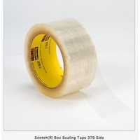 Packaging Tape 48x75m Clear 375 Heavy Duty 3M - pack 6