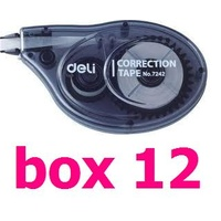 Correction Tape 5mm x 8M Hangsell Deli box 12 bulk code 7242 - this is a box of 12 desktop diplay