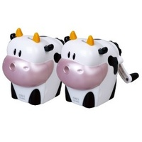Pencil Sharpener Cow Rotary Medium Deli 0639 - each