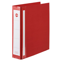 Binder A4 2D 50mm Deluxe Marbig 5912003 Red Each